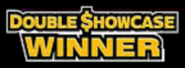 Double Showcase Winner 2002-2008 Logo