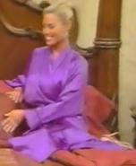 Rachel in Satin Sleepwear-30