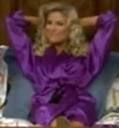 Rachel in Satin Sleepwear-40