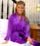 Rachel in Satin Sleepwear-12