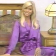 Teri Harrison in Satin Sleepwear-16