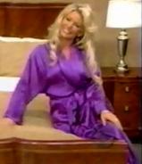 Gabrielle in Satin Sleepwear-7