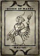Queen of Wands - Malikel