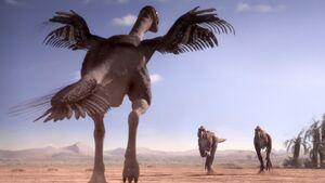 Gigantoraptor and Alectrosaurus