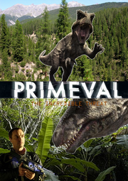 Primeval The Incredible Threat Front Cover Remake