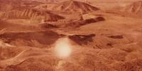 Silurian desert (The Sound of Thunder)