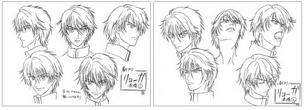 Ryoga character design 2