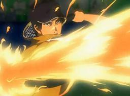 Sanada using Fire