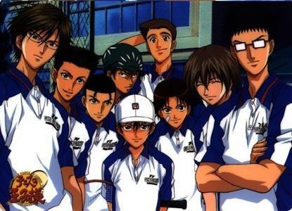 The Seigaku Team