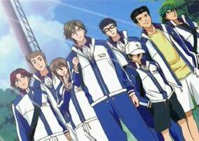 1.The Seigaku Team