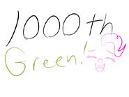 100th green