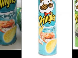 Pringles soft shell crab