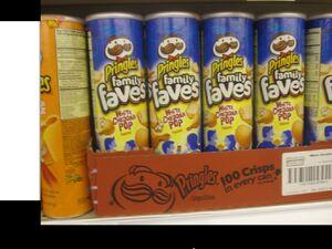 Pringles wite cheddar pop