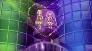 Laala and Mirei stand as the winner