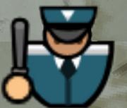Guard alarmed