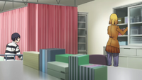 Hana nurses Kiyoshi