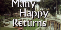 Many Happy Returns (1967 episode)