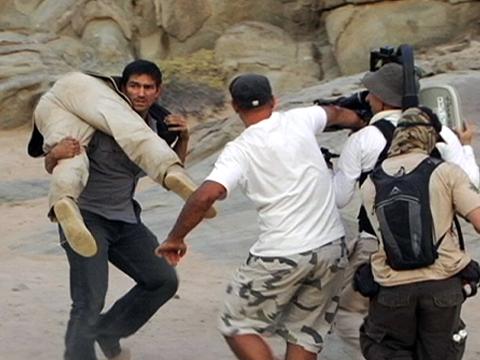 File:Filming on location, The Prisoner 2009.jpg