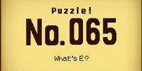 What's E?