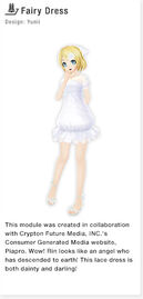 ProjectDivaF2nd FairyDress