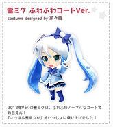 Mirai2 SnowMikuFluffyCoat