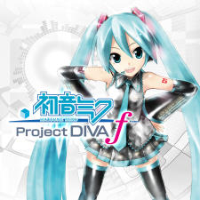 Hatsune Miku Project DIVA f (PS Vita) digital box art