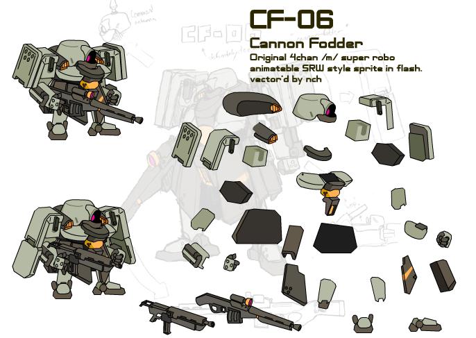 NaZR-06-CF sprite sheet