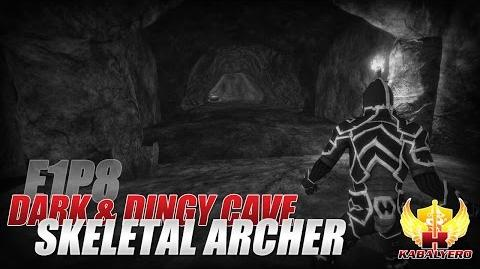 Project Gorgon Pre-Alpha Gameplay E1P8 Dark & Dingy Cave ★ Skeletal Archer