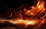 2770-nebula-and-planet-1280x800-fantasy-wallpaper