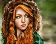 Redhead girl by junicahots-d5lhpmi