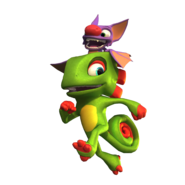 Yooka and Laylee Running