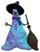 Witch Snowman