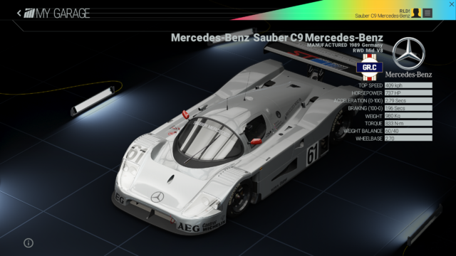 File:Project Cars Garage - Mercedes-Benz Sauber C9 Mercedes-Benz.png