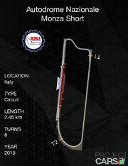 Autodrome Nazionale Monza Short