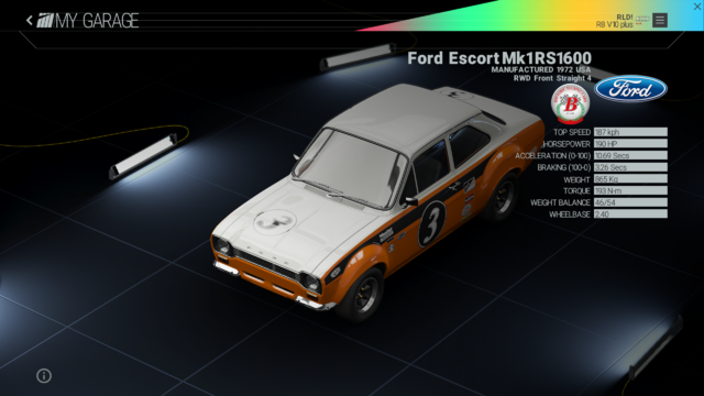 File:Project Cars Garage - Ford Escort Mk1 RS1600.png