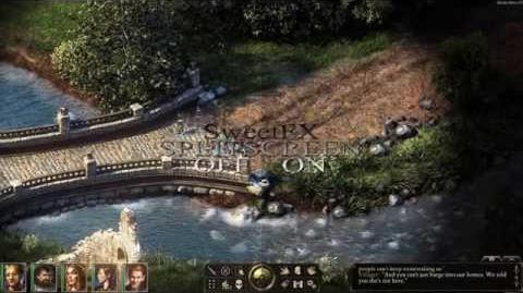 Pillars of Eternity with SweetFX Reshade - gameplay PC Improved graphics mod on Windows 8.1