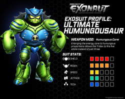 Ultimate Humungousaur Stats