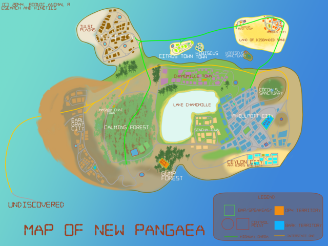 File:Map of New Pangaea V1.png