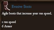 Ingame Evasive Boots