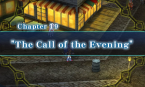 Chapter 19 - The Call of The Evening