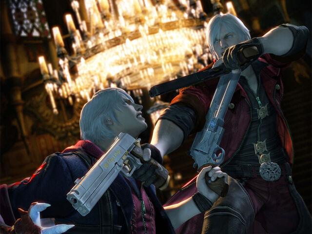 File:Devil May Cry 4 Dante vs Nero by Niki4a12.jpg