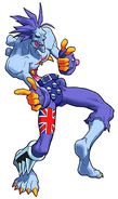 Darkstalkers 3 Lord Raptor