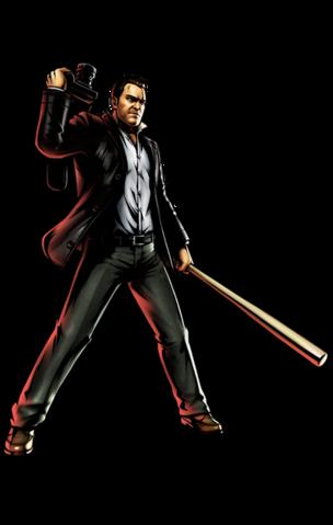 File:Frank West Ultimate Marvel vs Capcom 3.png