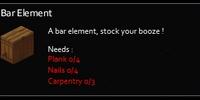 Bar element