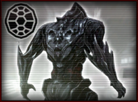 La forma de armadura.