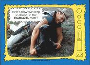 1987 WWF Wrestling Cards (Topps) Outback Jack 68