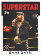 2016 WWE Heritage Wrestling Cards (Topps) Sami Zayn 68