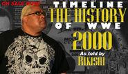 Timeline History of WWE - 2000 Rikishi