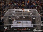 Wwe-hell-in-a-cell-HHH V Foley NWO 2000