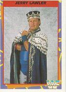1995 WWF Wrestling Trading Cards (Merlin) Jerry Lawler 32